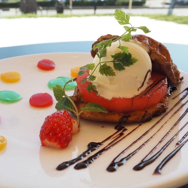 【期間限定】富山県美術館で「富富富ふっくらごはんぱんフレンチトースト」が食べられます !